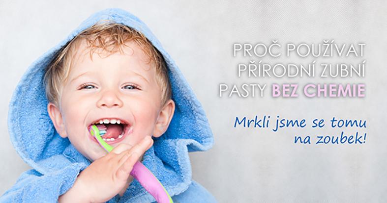 Proč nepoužívat klasické zubní pasty