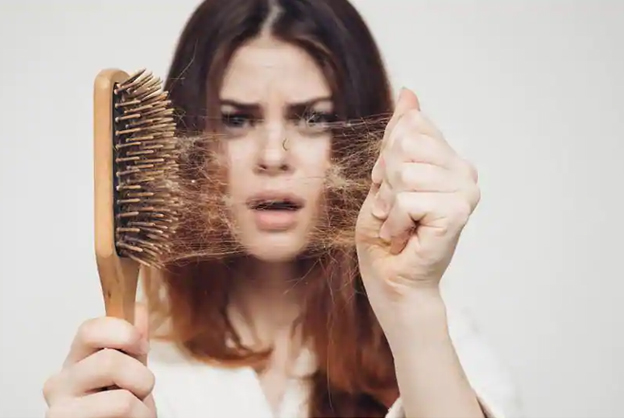 Extrémní padání vlasů, padání vlasů ze stresu