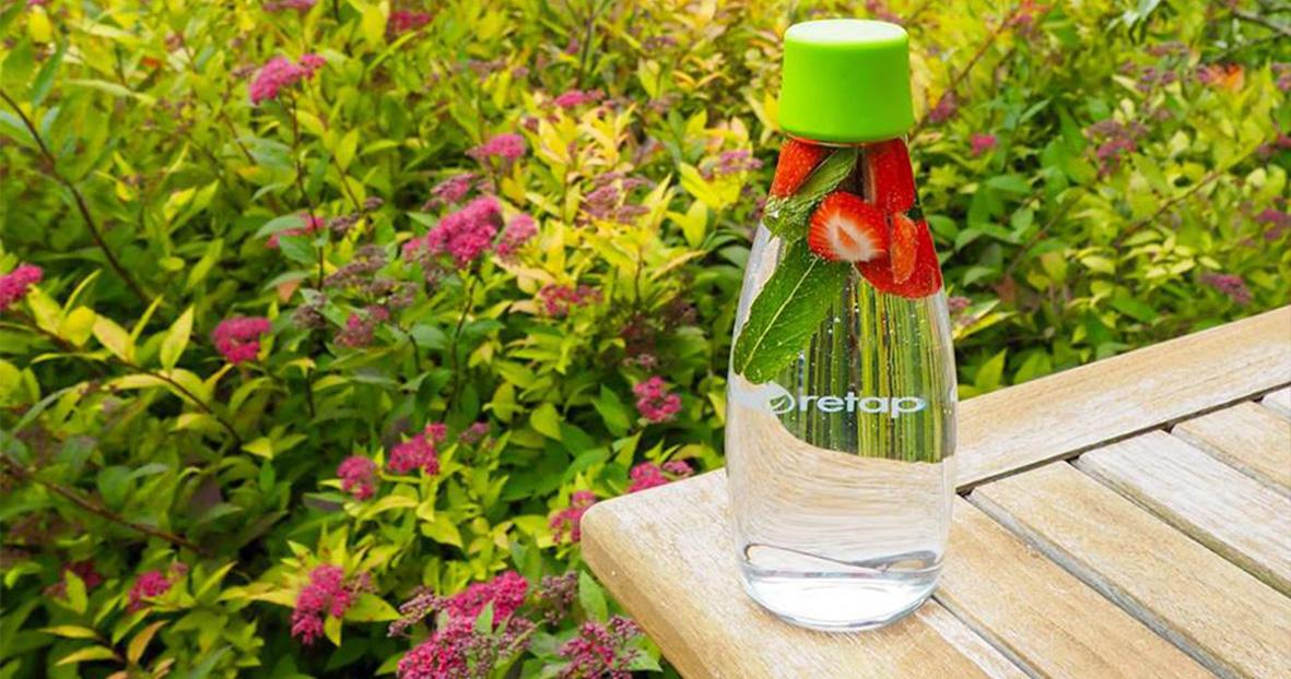 Ekologická láhev s doživotní zárukou výměny při rozbití