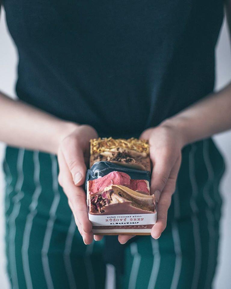 Almara soap tuhá mýdla vyrobená v Čechách a s láskou