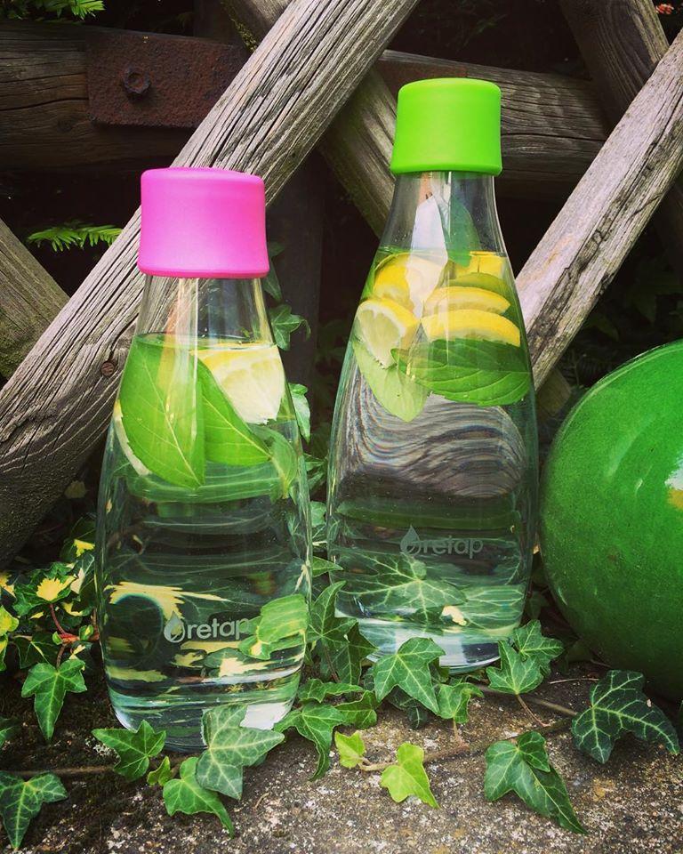 Osobní ekologická láhev na cesty. Retap s doživotní zárukou při rozbití.