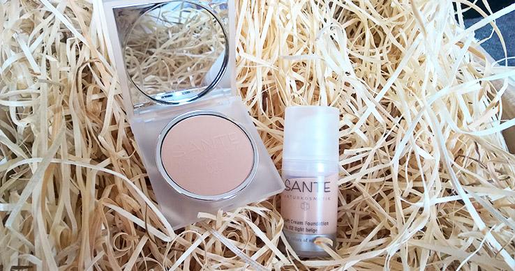 Recenze: Make-up a Kompaktní pudr od Santé