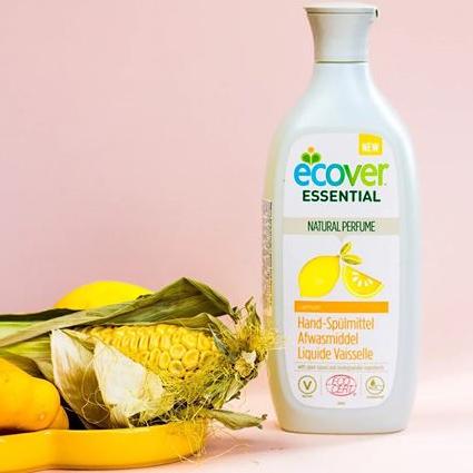 Ekologický čistič Ecover Essential vyrobený z rostlinných ingrediencí